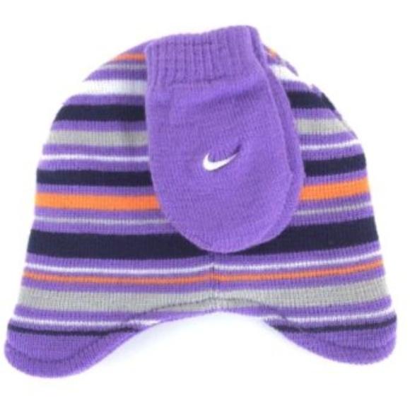 63ddf0471a758 Nike Infant Girls 12-24 Mth Beenie   Mittens Set